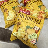 Haitai Honey Butter Chip 60g*3 Honey-flavored Korean Potato Chips-3 Packs