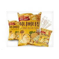 Honey Butter Chip New Korea Potato Snack 60g x 2