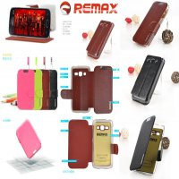 REMAX Fashion Leather Flipcasr Casing For Samsung Galaxy Ace 3 (S7270)