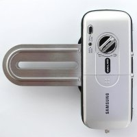 Samsung SHS-G510 Smart Glass Lock for Double Door + 12 RF KeyTags, English Interface Manual