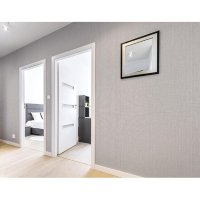 Hyundae Fixpix Wallpaper Sticker Dinding Horizontal Grey - GP 11543