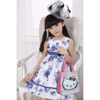 Tas Fashion Anak Hello Kitty Doraemon Lucu model Tenteng Imut Modern Keren Hadiah Happy Birthday Ult