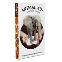 Octagon Studio Flash Card ANIMAL 4D/Kartu ANIMAL 4D Free Food Card Original Isi 5 Lembar