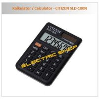 Kalkulator / Calculator - CITIZEN SLD-100N