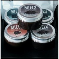 Complete 4 jars mocha coal cocoa coffee