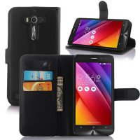[globalbuy] Luxury Wallet Flip PU Leather Case Cover For Asus Zenfone 2 Laser ZE500KL ZE50/3629268