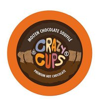 [poledit] Crazy Cups Molten Chocolate Souffle Hot Chocolate Hot Cocoa Single Serve Cups fo/13871960