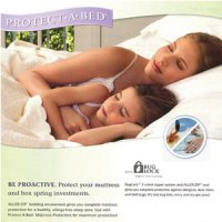 Uh bed pillow protectors cover (premium) quality soft cotton waterproof cover waterproof mite antibacterial prevent