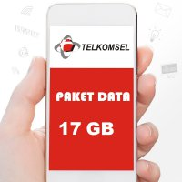 Telkomsel Paket Data 17GB ( AS LOOP SIMPATI ) 30 Hari