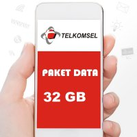 Telkomsel Paket Data 32GB ( AS LOOP SIMPATI ) 30 Hari