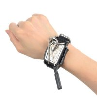 Jakemy JM-X4 Permanent Magnetic Wristband Bracelet Adsorption Tools for Small Parts - Black