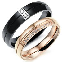 Cincin Couple Titanium Kode CC064 NEW