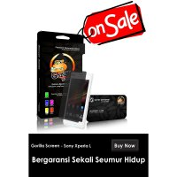 Anti Gores – GOSCREEN SONY XPERIA L