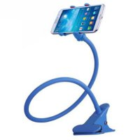 Lazy Mobile Phone Monopod - Tripod-8-1 - Blue