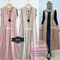 Outer Hijab/ Davin Long Outer Scuba