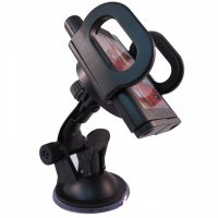 Car Holder for Mobile Phone - Tripod-1 - Black
