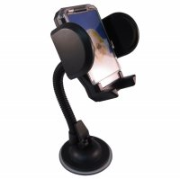 Car Holder for Mobile Phone - Tripod-4 - Black