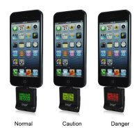 Ipega Alcohol Tester for iPhone 5/5s/SE/5c /iPad Mini - PG-I5006 - Black