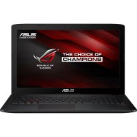 Asus ROG GL552VW - RAM 12GB - Intel Corei7-6700HQ - WIN10- 15.6' FHD - Hitam