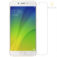 Zilla 2.5D Tempered Glass Curved Edge 9H 0.26mm for OPPO R9s Plus - Transparent