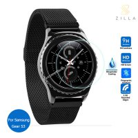 Zilla 2.5D Tempered Glass Curved Edge 9H for Samsung Gear S3