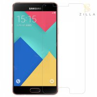 Zilla 2.5D Tempered Glass Curved Edge 9H 0.26mm for Samsung Galaxy A9 Pro 2016 - Transparent