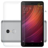 Zilla 2.5D Tempered Glass Curved Edge 9H 0.26mm for Xiaomi Redmi Note 4 - Transparent