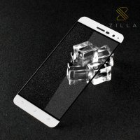 Zilla 3D Full Protect Tempered Glass Curved Edge 9H for Asus Zenfone 3 ZE520KL ZE552KL - White