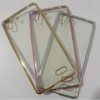 Termurah Oppo R7 Tpu Jelly Chrome List Case