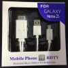 KABEL MICRO USB TO HDMI HDTV MHL 1080P ADAPTER CABLE SAMSUNG GALAXY NOTE 3 2 W SJ0041