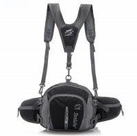 Tanluhu Tas Pinggang Model Bladder - Black