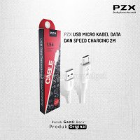 PZX USB Micro Kabel Data dan Speed Charging 2m