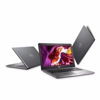 DELL Inspiron 15-5565 - RAM 8GB - QuadCore A12-9700P - AMD R7 - 15.6' - Win10 - Hitam