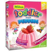 Milna Toddler Instant Pudding Strawberry 12m+