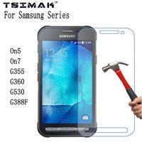 [globalbuy] For Samsung Galaxy On5 On7 Tempered Glass Screen Protector Film For Samsung Ga/4087236