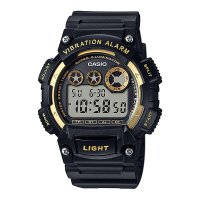 Jam Tangan Pria Digital Casio Original Vibration Alarm W-735H-1a2