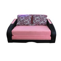 Wellington's Sofa Bed Pinky Pink Hitam