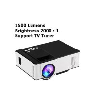 Mini Proyektor 1500 Lumens + TV Tuner / Proyektor HIPLAY VS314