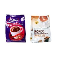 Cadbury Hot Drink + ChekHup Koko Hot Chocolate