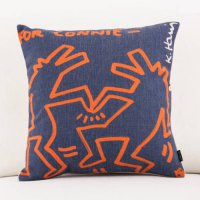 [globalbuy] Custom made free shipping Keith Haring painting Chair Cushion modern minimalis/1711395