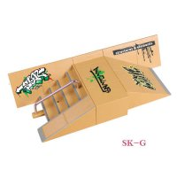 [globalbuy] SK-G Steps & Plane Slope Finger Skateboard Park Ramp & Fingerboard Parts for T/2682257