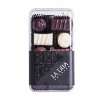 Ladifa Cookies Choco Mix Kue Kering [Square Canister]