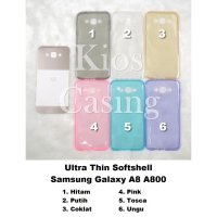 Samsung Galaxy A8 A800 - Ultra Thin Softshell Silikon Kondom Case Casing Sarung Cover