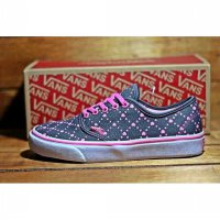 sepatu casual vans authentic women love grey