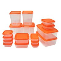 IKEA (R) - PRUTA - Container Food Set of 17 BPA Free - Lunch Box Asli