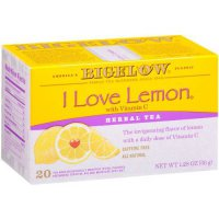 [poledit] Bigelow Tea Bigelow I Love Lemon Herbal Tea, 20-Count Boxes (Pack of 6) (T1)/13652639