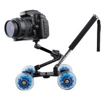 Slider Kamera DSLR Dengan Magic Arm Dan Monopod