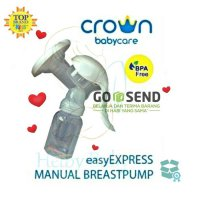 Crown Baby easyEXPRESS Manual Breast Pump Pompa Asi - Free 1 Botol