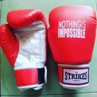 GLOVES MUAYTHAI NOTHING IS IMPOSSIBLE | Sarung Tinju