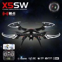 Syma X5sw 4ch 3d Rc Quadcopter Wifi Fpv Camera Drone
